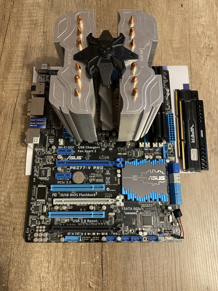 Motherboard overview